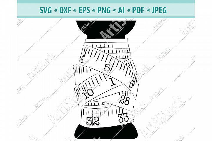 Tailor Measuring Tape Svg Sewing Svg Tailor Dxf Png Eps 447928 Svgs Design Bundles In 2020 Dxf Sewing Svg