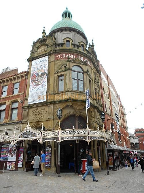 The Blackpool Grand Theatre  - shows a wide range of shows and musicals over the year.