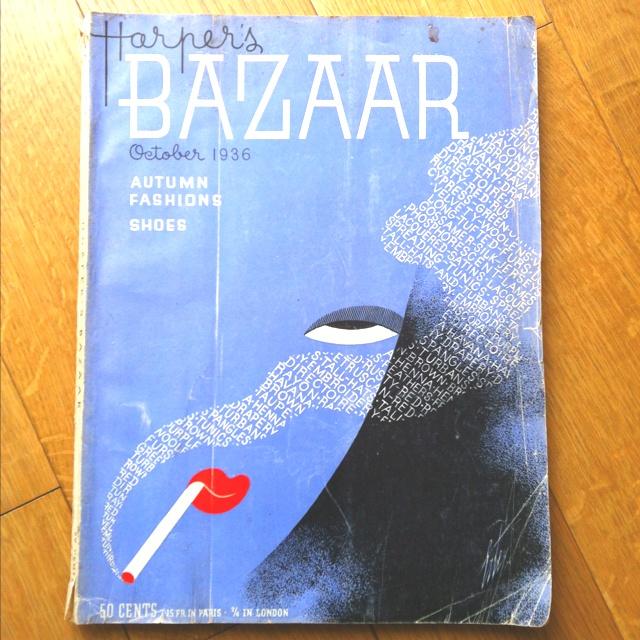 From my bookshelf: Harper's Bazaar, October 1936.