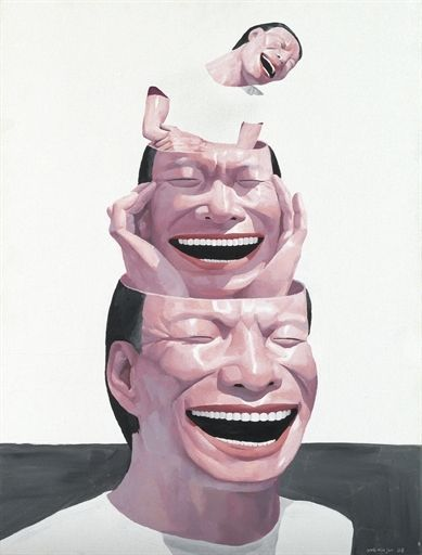 Yue Minjun - Untitled on MutualArt.com
