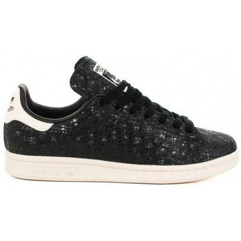 <ul><li>Basket Adidas Stan Smith</li><li>Fermeture à lacet</li><li>Cuir à motif serpent</li></ul> - Couleur : Noir - Chaussures Femme 102,00 €
