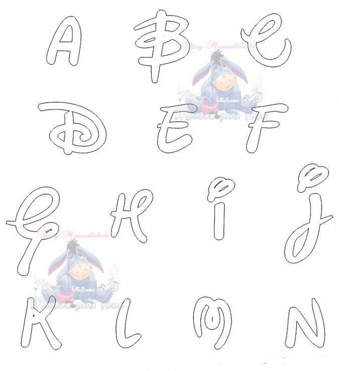 Dibujos para colorear letras Disney | ¡El abecedario de Igor ...