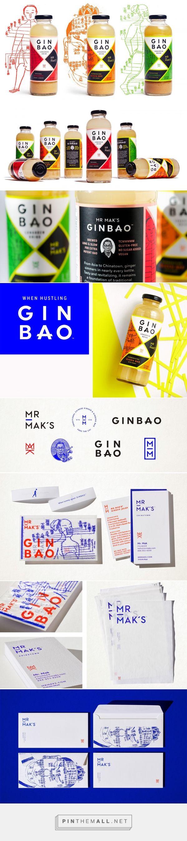 Mr. Mak's Ginbao #ginger #beverage #packaging #design by Werner Design Werks - http://www.packagingoftheworld.com/2016/12/mr-maks-ginbao.html