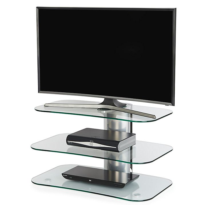 Buy Off The Wall Skyline ARC800 Silver TV Stand for Curved Screen TVs up to 55