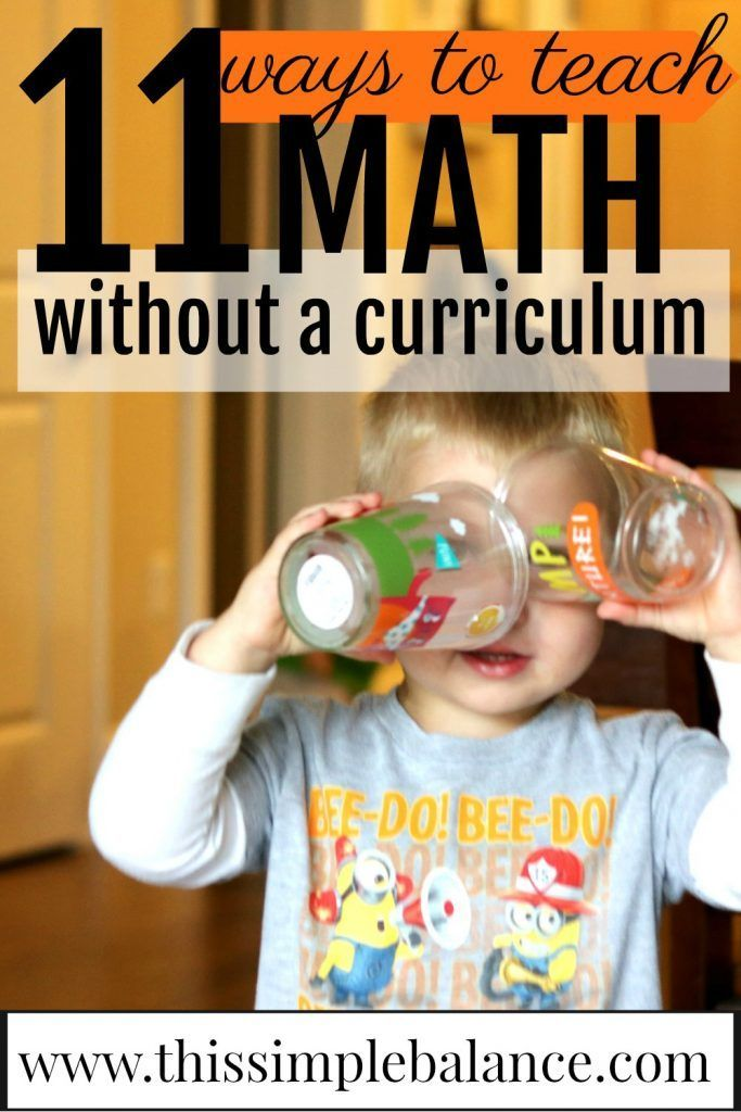 Is math one of your least favorite homeschool subjects? Use these simple ideas to create an environment that helps your kids love math (without a curriculum).