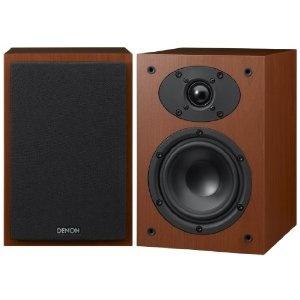 Denon SC-F109 Regallautsprecher (Paar, Bassreflex) kirsche: Amazon.de: Audio & HiFi