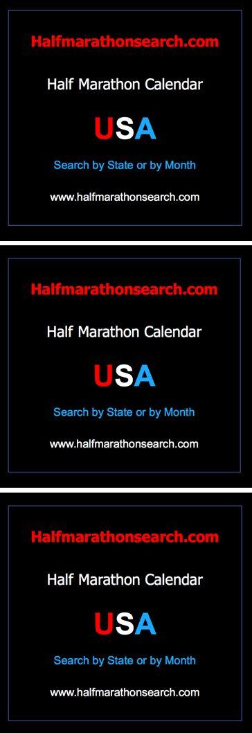 #halfmarathon #halfmarathons USA Half Marathon Calendar - Search for a half marathon by state OR by month - California half marathons, Texas half marathons, Colorado half marathons, New York Half marathons, Illinois half marathons, Ohio half marathons, Arizona Half marathons, Pennsylvania half marathons, Florida half marathons AND MORE. www.halfmarathonsearch.com