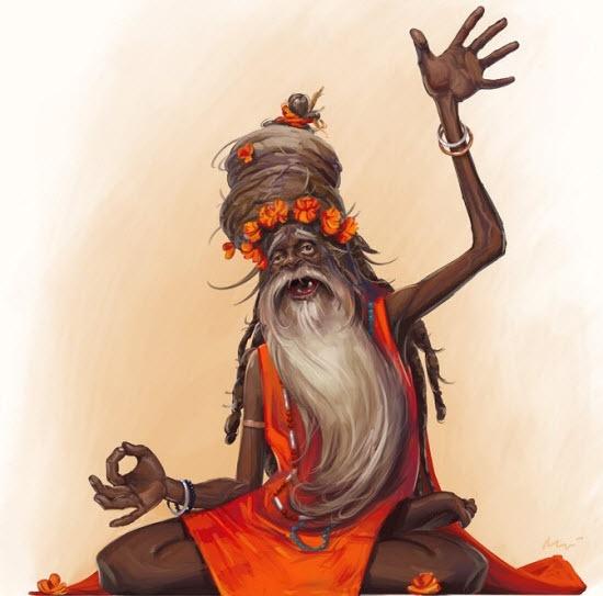 30 Creative Character Illustrations: Art Inspiration Tutorials, Concept Character, Character Inspiration, Character Hindu, Hindus Illustrations, Character Illustrations, Character Concept, Character Design, Cartoon Character