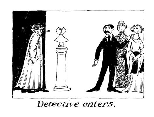 Thoughtful Alphabets: Edward Gorey's Lost Cryptic 26-Word Illustrated Stories   Brain Pickings