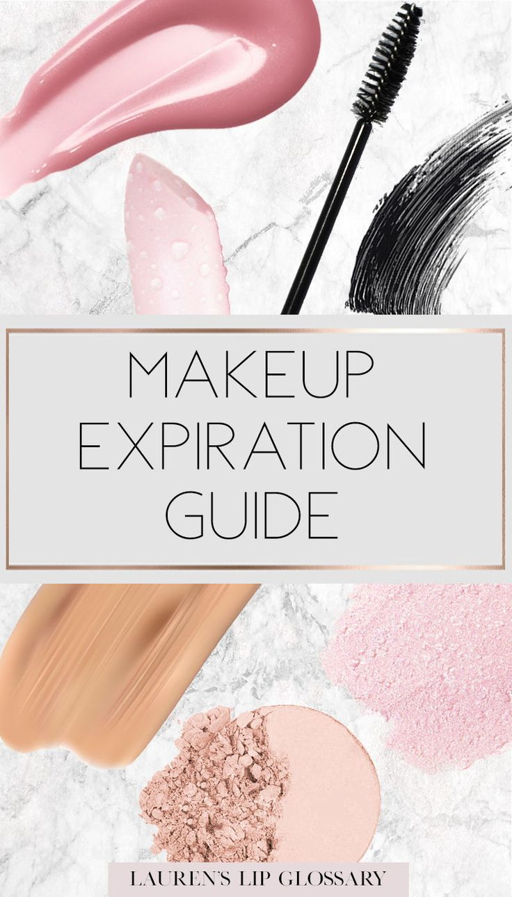 Makeup Expiration Guide When To Throw Out Your Makeup Makeup Expiration Guide Makeup Eyeliner Makeup