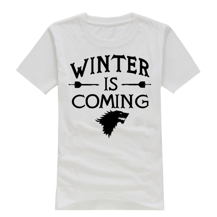 Game of Thrones Men T Shirt Short Sleeve O Neck Cool Winter is Coming Male t-shirt  Stylish Boys Tee Shirts Top Quality  //Price: $US $11.99 & FREE Shipping //     #asoiaf #gameofthrones #valarmorghulis #jonsnow #stark #lannister #daenerys #winteriscoming #targaryen #sansastark #khaleesi #robbstark  #khaldrogo #ayrastark