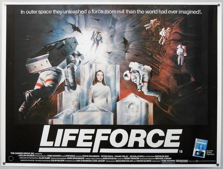Mathilda May in Lifeforce (Força Sinistra), 1985