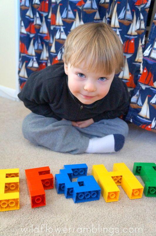 #Alphabet #Lego Cards - Uppercase {free printable!}