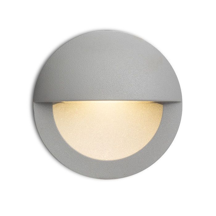 ASTERIA | Rendl Light Studio | Recessed Wall Light For Outdoor Use. The  Visible Opening