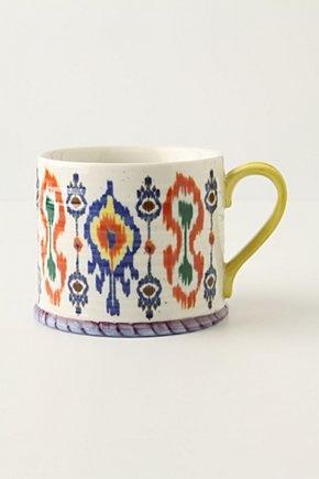 Ikat teacup! #ikat #residential #interior #design