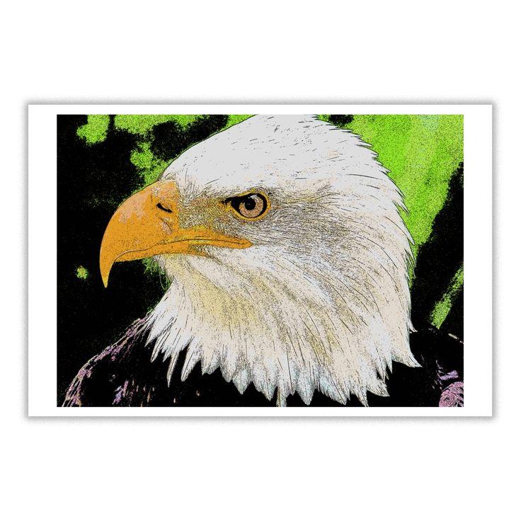 #Bald #Eagle #Cartoon-style