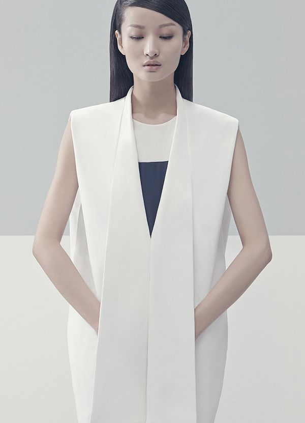 Structured Minimalism Attire - The Liao Dan Spring/Summer 2014 Collection Embraces Simplicity (GALLERY)