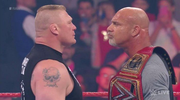 "Goldberg Promises WrestleMania 33 Match Against Brock Lesnar Will Be A ""Blood Fest"""