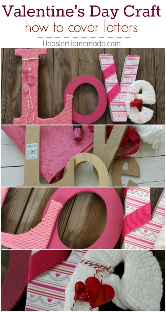 Valentine's Craft: Love Letters | A well, Valentine day ...