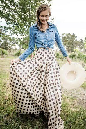 Waltzing Matilda Ball Skirt Modest