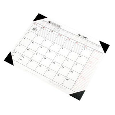 At-A-GLANCE Two-Color Monthly Desk Pad Calendar, 22 x 17, 2017 - AAGSK117000