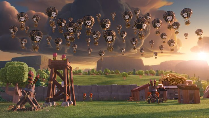 Clash of Clans: Balloon Parade (Official TV Commercial)- This is hilarious!!