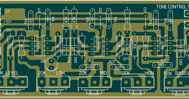 Audio Equalizer Circuit With Images Electronic Engineering