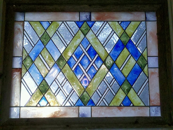 Idea For Laundry Room Cabinet Doors Faux Stained Glass