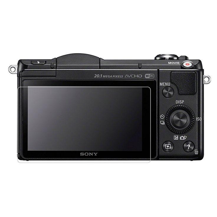 2pcs Anti-Scratch LCD Screen Protector Guard Shield PET Film for Sony  A5000 A5100 A6000 NEX 3N Camera Accerrories