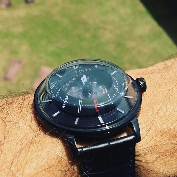 Excellebt shot of Fiyta 3D Time from @watchmywatches!  See all our Fiyta models here: http://bit.ly/2ztTyeE  #fiyta #fiytawatch #designerwatches #wristshot #instawatches #watchaddict #watchporn #watchnerd #watchesofinstagram #horology #wristwatch #wristwatches