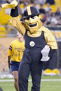 The Steelers Mascot