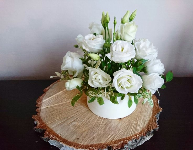 White flowerbox