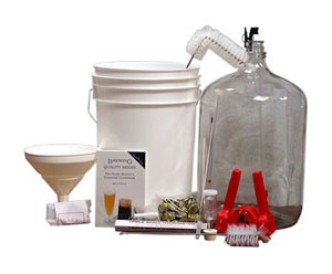 This deluxe beermaking equipment kit includes all of the items that make up our basic kit, plus a basic hydrometer for taking potential gravity readings, an immersible thermometer to monitor...Read More