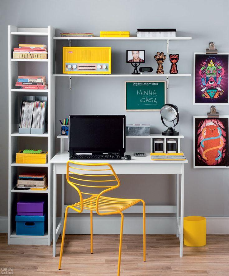 Home Office: Quatro Estilos Diferentes De Decoração Part 64