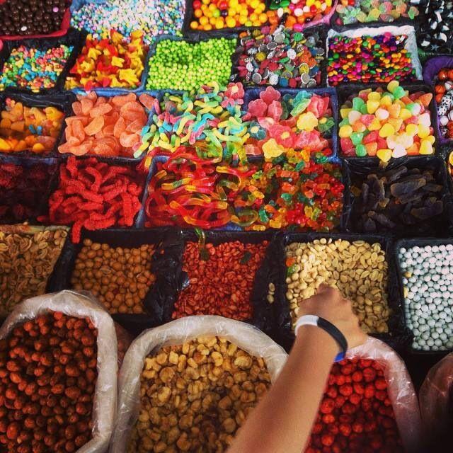 Dulces en el antigua feria de Morelia