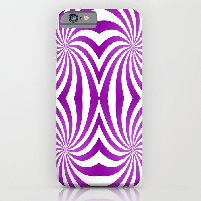 Purple hypnotic swirls iPhone Case #phonecase #iphone6