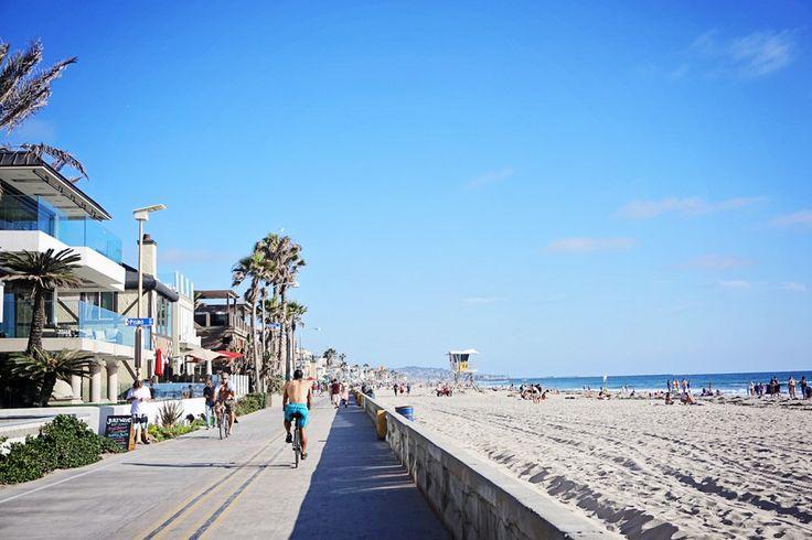 Pacific Beach Boardwalk in San Diego
