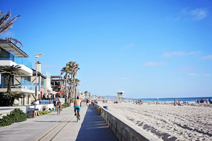 Pacific Beach Boardwalk in San Diego