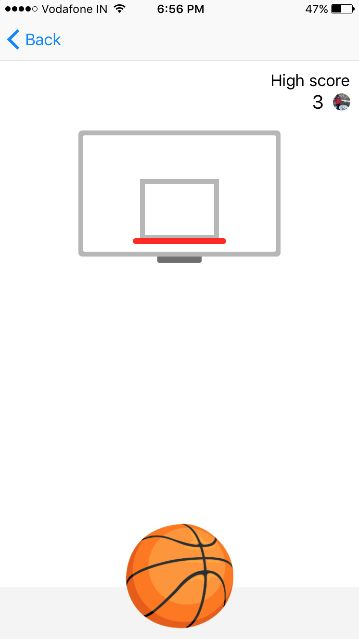 Learn how to play basketball game in Facebook Messenger App with your friends in seconds. Unlock Hidden Facebook Messenger trick in few easy steps.