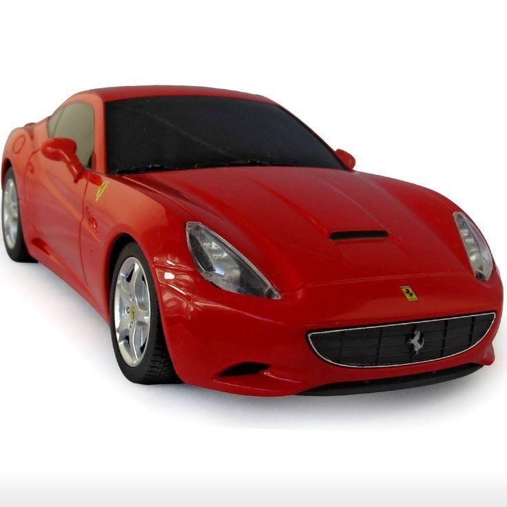 Ferrari California - Red For more Rastar toys, visit http://www.yellowgiraffe.in/ #Rastar #toys #cars #Ferrari