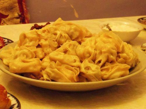 Uzbekistan food - Manti