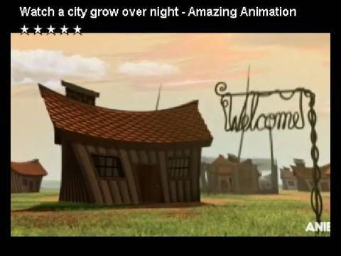 Watch a City Grow over night - Amazing Animation by Anca Risca and Joji ...