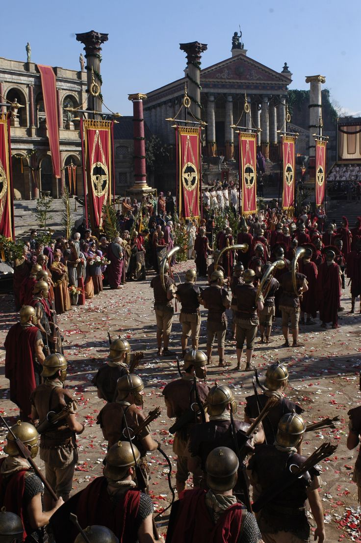 Rome TV Series - Episode Still