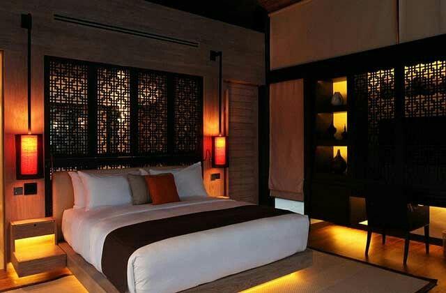 Dormitiorio estilo asiático