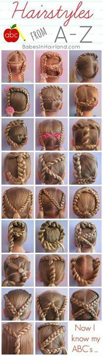 a-z hairstyles