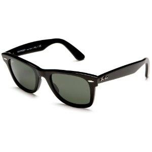 Ray-Ban RB2140 Original Wayfarer Sunglasses,Black Frame/Black Lens,50 mm (Apparel)  http://www.womendresscode.com/prod.php?p=B001GNBJNW