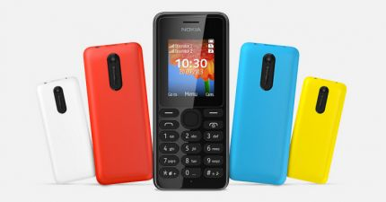 Nokia 108 low-cost mobile phone with camera for $ 29 .