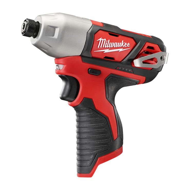 """Milwaukee 2462-20, M12 1/4"""" Hex Impact Driver - Tool Only https://cf-t.com/milwaukee-2462-20-m12-c2-bc-hex-impact-driver-tool-only"""