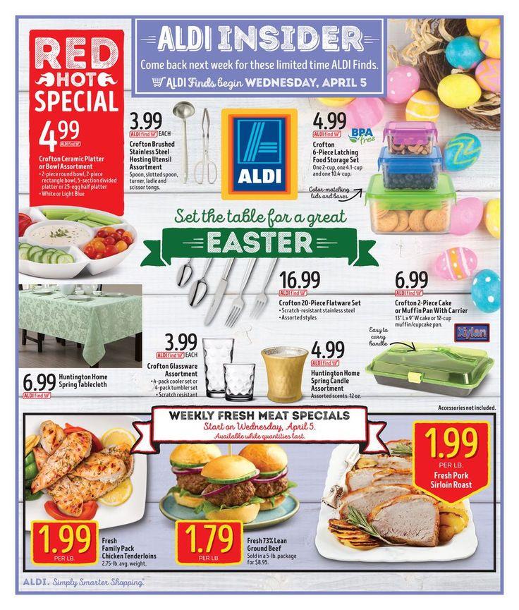 ALDI USA In Store Ad 4/5/17 United States #food #grocery #Aldi #savings