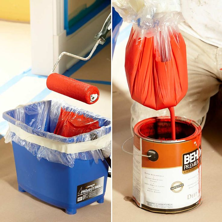 Replace Your Roller Tray with a Pail